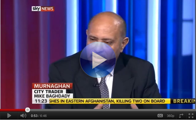 SKY NEWS: The Apprentice - Stock Market Traders - Training Live